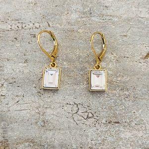 ♥️ Givenchy ♥️ Gold Diamond Earrings